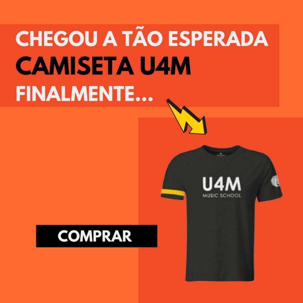 camiseta u4m